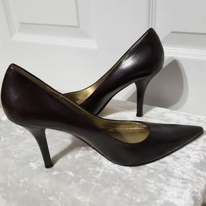 Nine West Dark Brown Pumps
